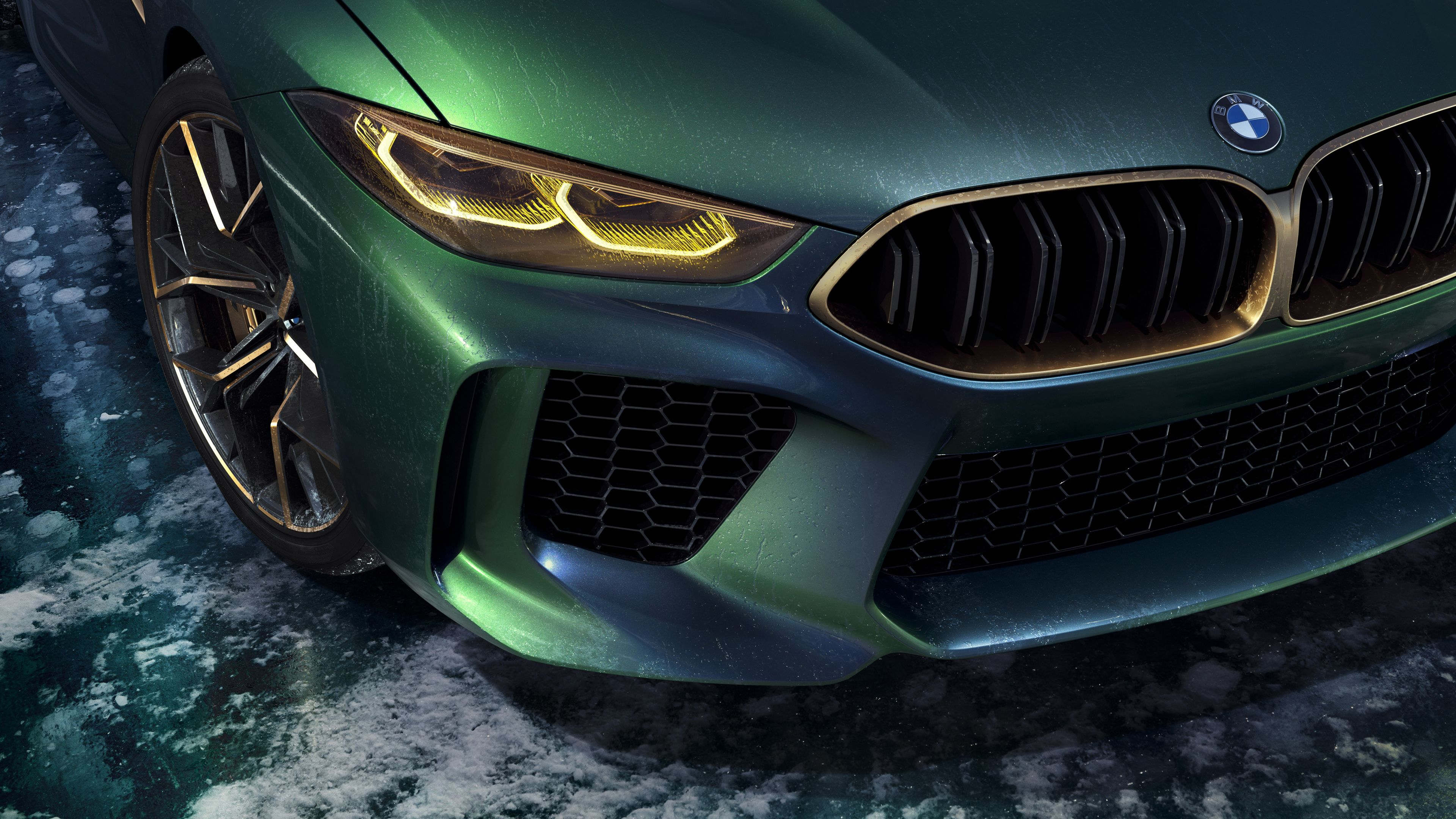 Bmw Concept M8 Gran Coupe Headlights hd-wallpapers, concept cars wallpapers, car…