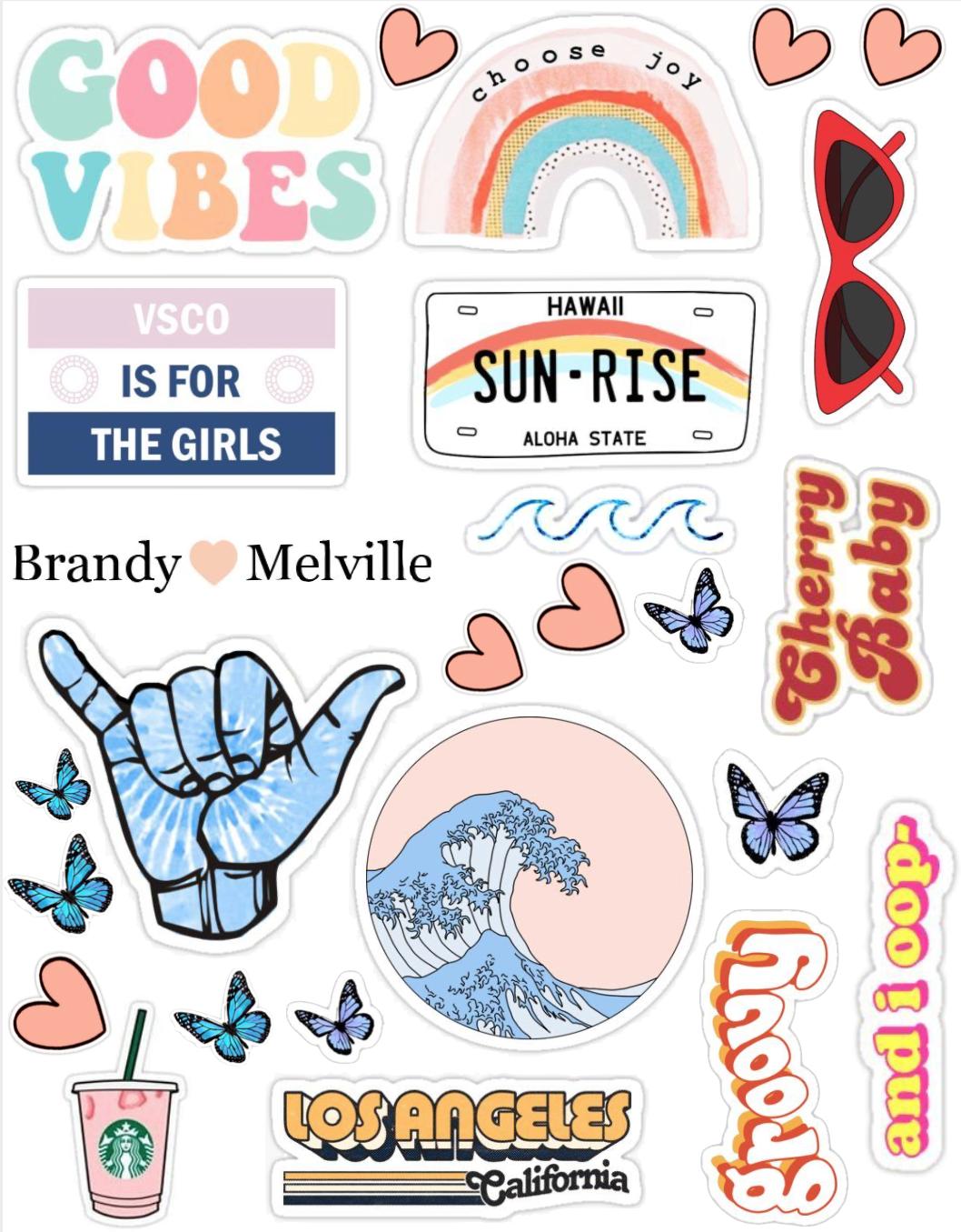 stickers vsco