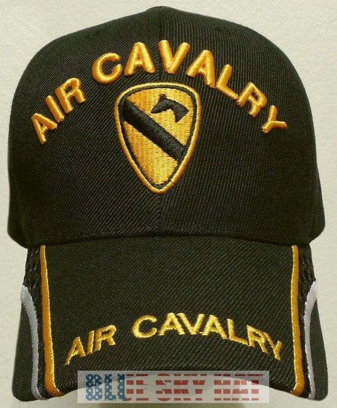 1ST TEAM U.S. ARMY DIVISION HORSE AIR CAVALRY CAV WINGS UNIT INSIGNIA CAP  HAT OS  PREMIUMQUALITYHATS  BallCap 610e67ae847
