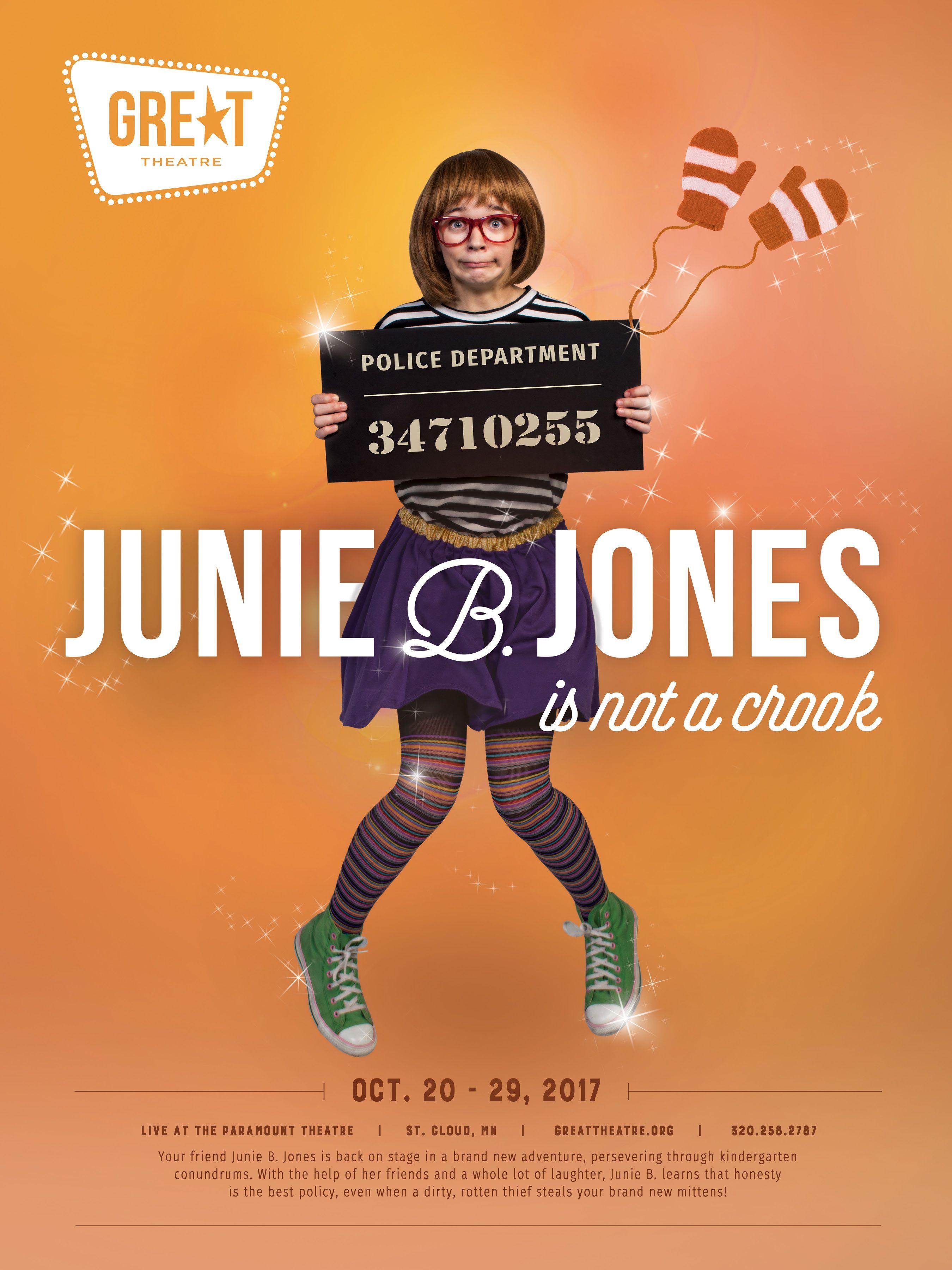 Great theatre junie b jones is not a crook junie b
