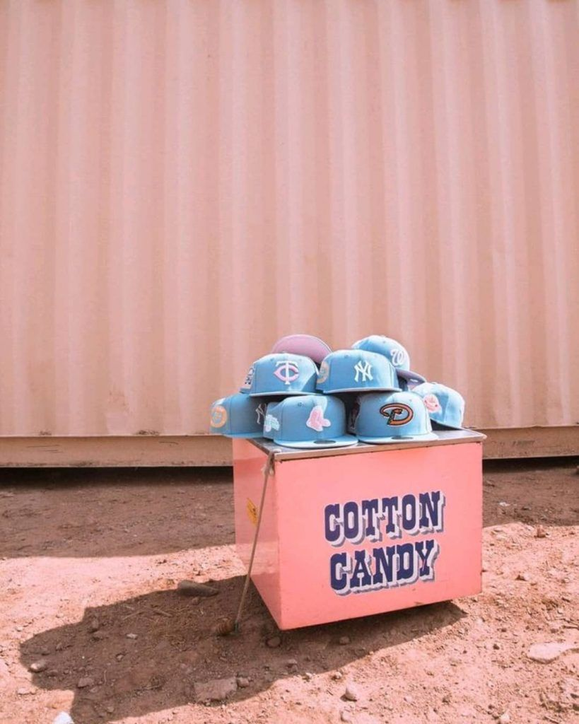 Cotton Candy Collection Now Up For Pre Order At Hat Club Cotton Candy New Era Fitted Cotton