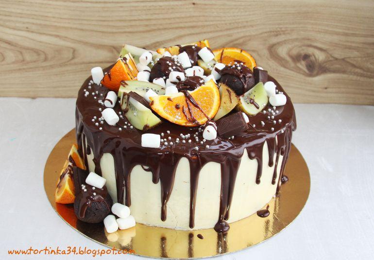 Глазурь для торта Рецепты глазури для торта - Кулинарный Эдем