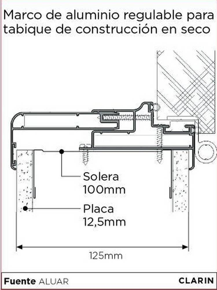Detalles constructivos entrepisos metalicos buscar con - Listones de aluminio ...