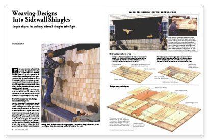 Best Simple Shapes Let Ordinary Sidewall Shingles Take Flight 400 x 300