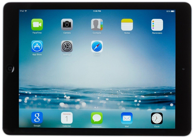 Apple iPad Air 32GB Space Gray WiFi MD786CL/B (avec
