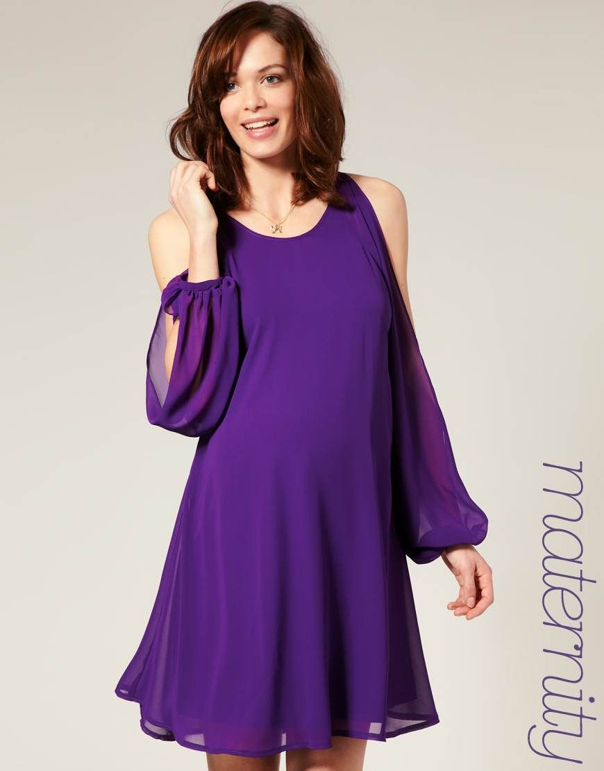 Vestido color púrpura para jóvenes. | Muchacha joven | Pinterest ...