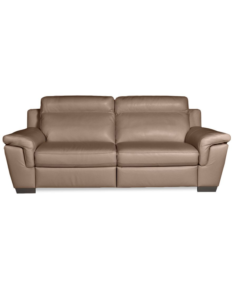 Julius Leather Power Motion Sofa