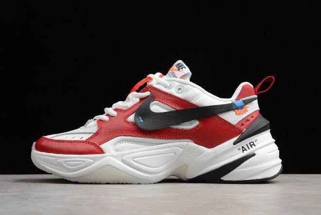 quality design bcf25 0f884 Latest OFF-WHITE x Nike M2K Tekno Red White Black A03108-060