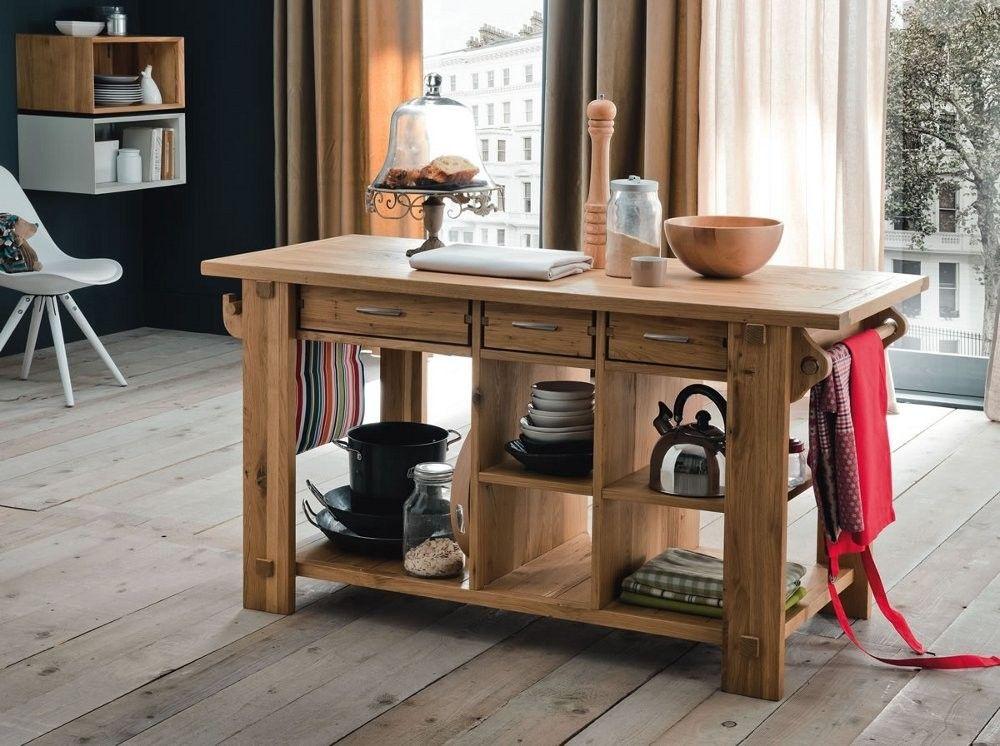 Isola cucina legno massiccio, Alta Corte | Arredamento | Pinterest