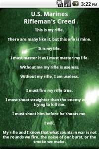 Us Marines Riflemans Creed Ive Learned This In Bootcamp And