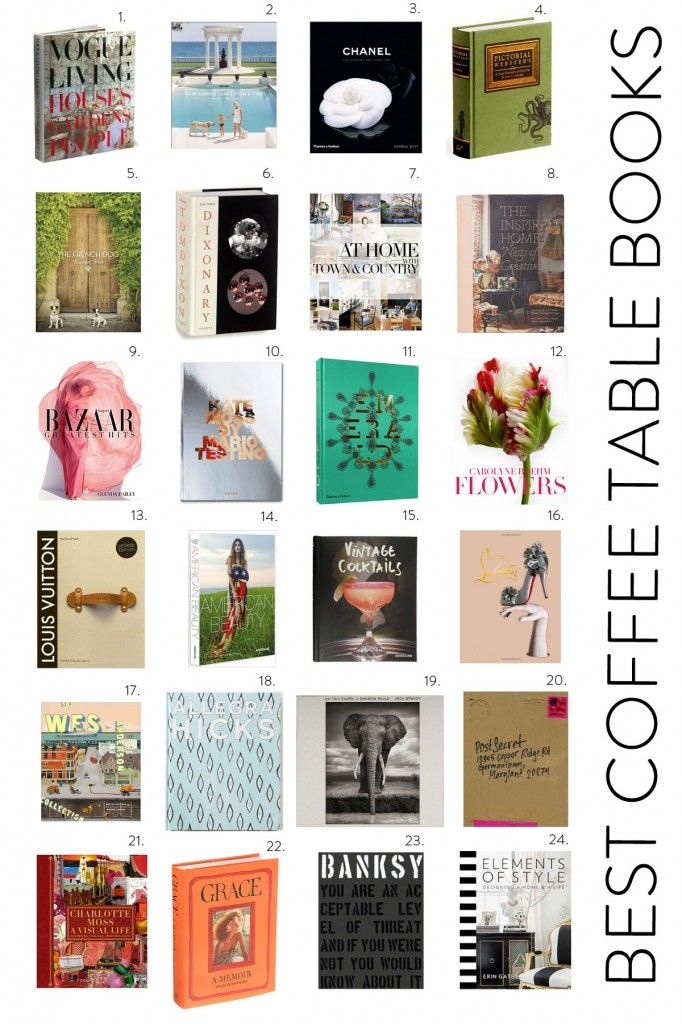 24 Great Coffee Table Books Best Coffee Table Books Top Coffee