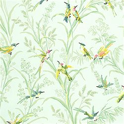 In love with this wallpaper! Thibaut Gatehouse Augustine
