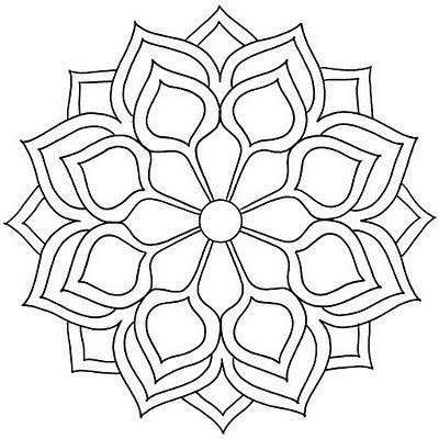 Las Mejores Mandalas En Blanco Y Negro Para Colorear Imágenes Para