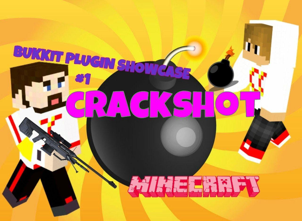 Minecraft - Bukkit Plugin Showcase (1) - Crackshot - Funny Face