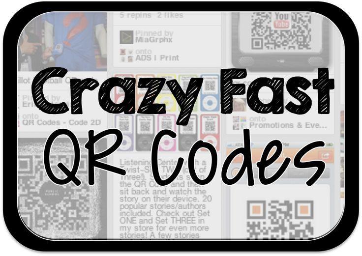 Crazy fast qr codes coding teaching technology technology