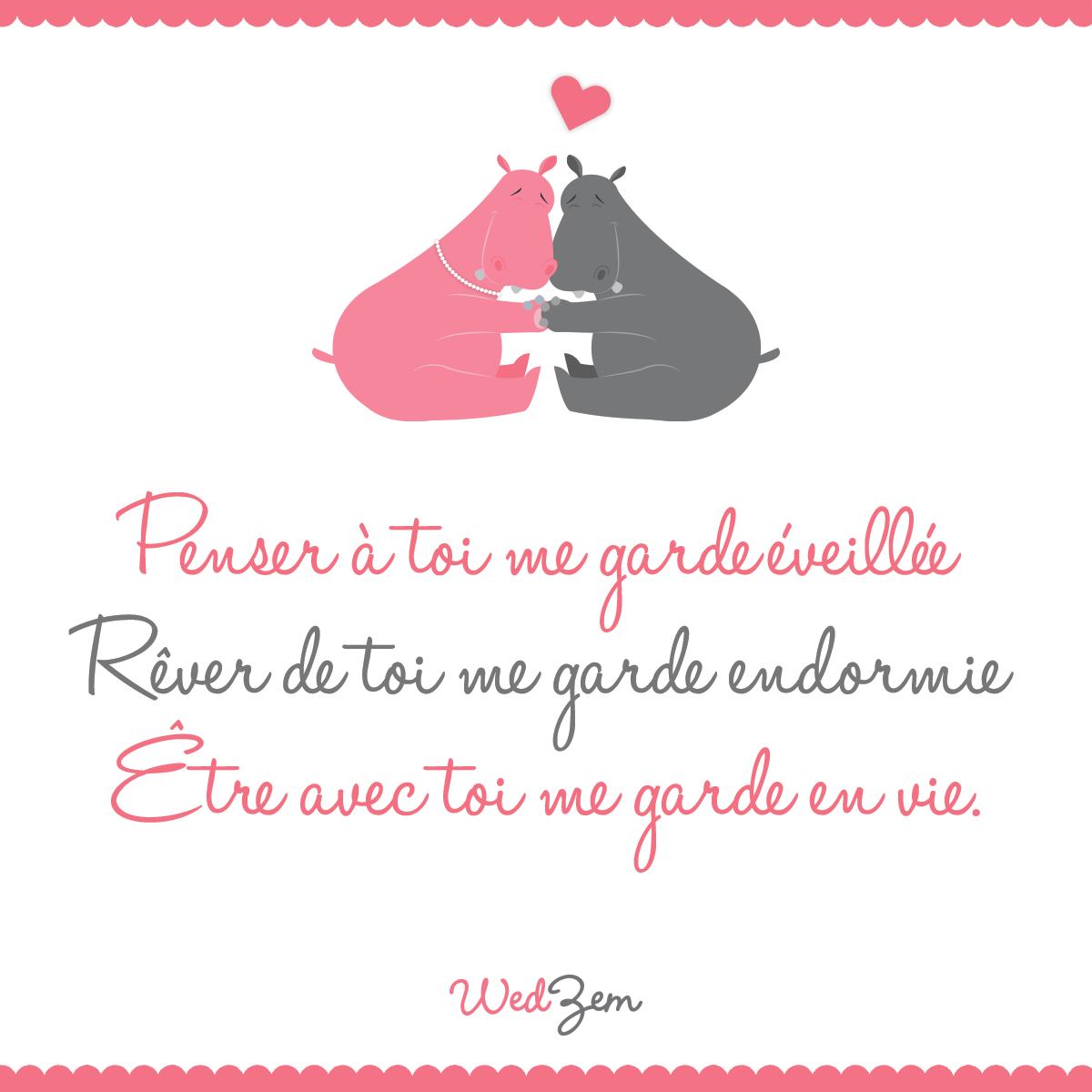 Petite Citation Damour Du Jour Amour Citation Citation