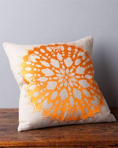 Design Accents 'Rangoli' Decorative Pillow