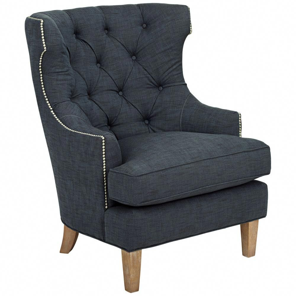 Reese Studio Indigo High Back Accent Chair Style 8g310 Highbackaccentchairs