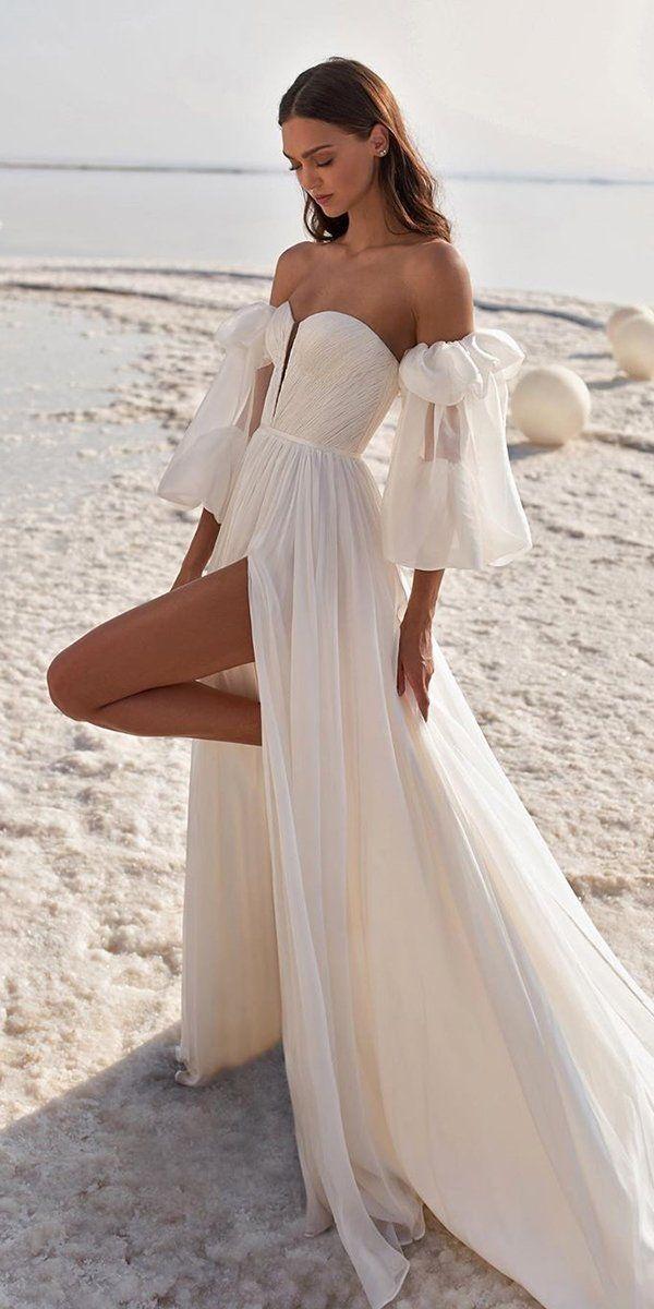 Photo of 30 Simple Wedding Dresses For Elegant Brides ❤ simple wedding dresses straples…
