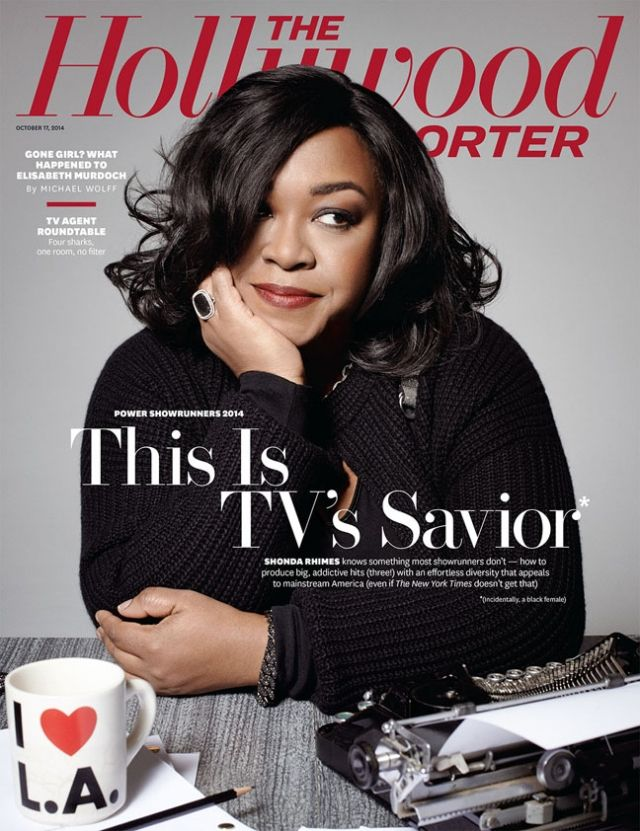 Shonda Rhymes Talks about her life and her TV shows in Magazine ...