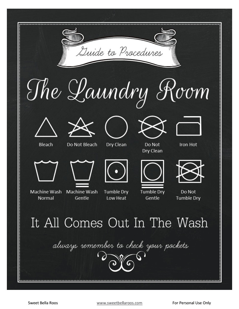 picture relating to Printable Laundry Signs known as laundry guidelines cost-free printable laundry house poster