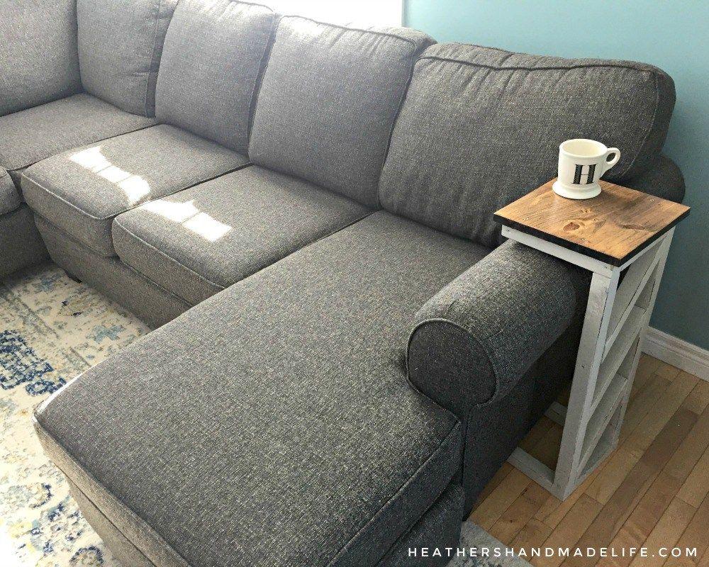 easy diy sofa tables heather s handmade life let me build rh pinterest co uk