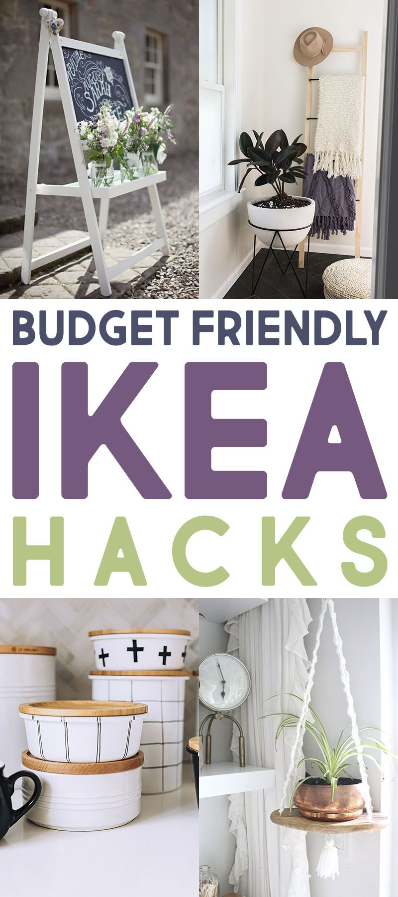Easy Budget Friendly Spring Decorating: The Best Budget Friendly IKEA Hacks