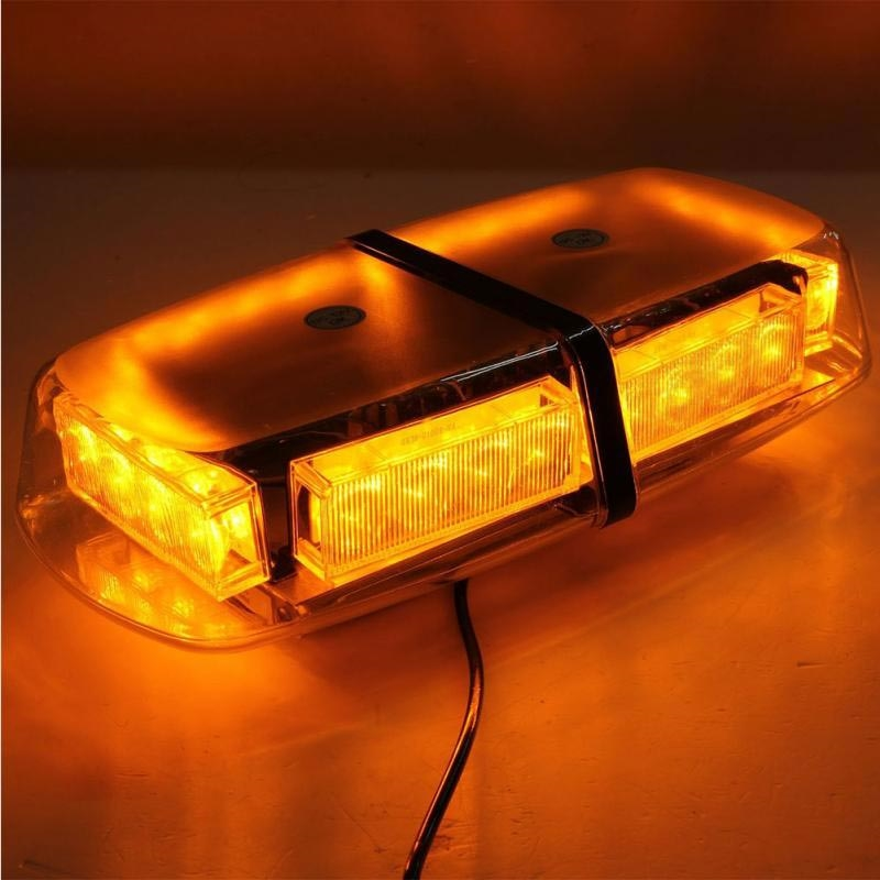 105.00$  Buy here - http://alixn4.worldwells.pw/go.php?t=1607446581 - High Power 24 LED Car Auto Roof Flash Strobe Magnets Emergency EMS Warning   Police Light Flashing Lights 24LED AMBER 105.00$