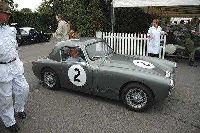 1960 AustinHealey Sebring Sprite Moss Motoring - induced info