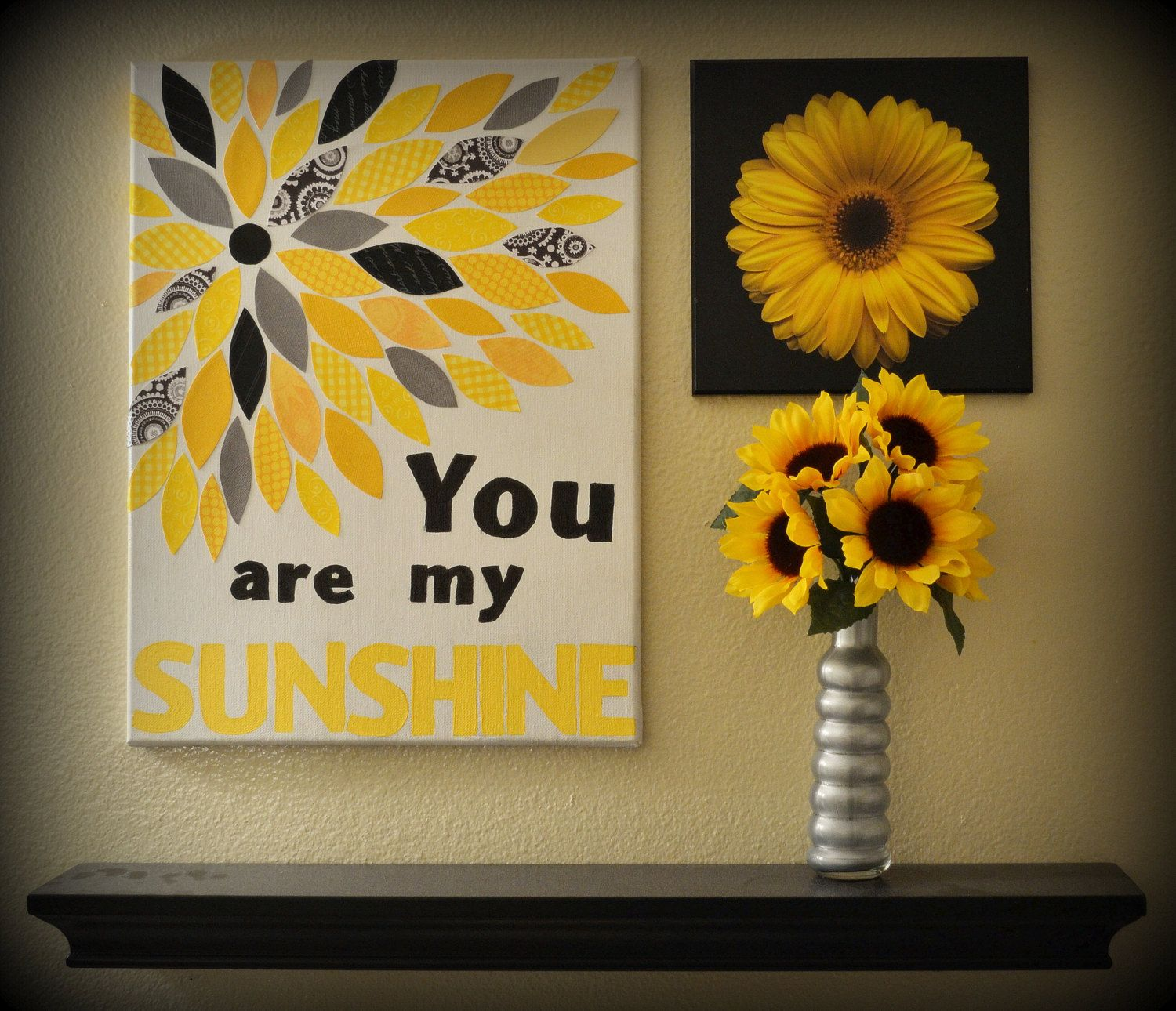 You Are My Sunshine Canvas Wall Decor | Canvas wall decor and Wise words