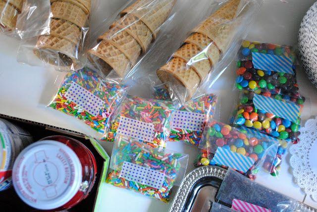 a pretty cool life.: end of the year teacher gifts: DIY ice cream sundae kits