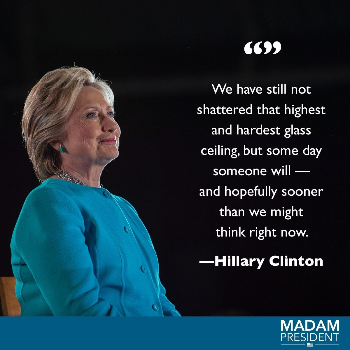 It s unfortunate that we must wait Hillary the Woman s Martyr