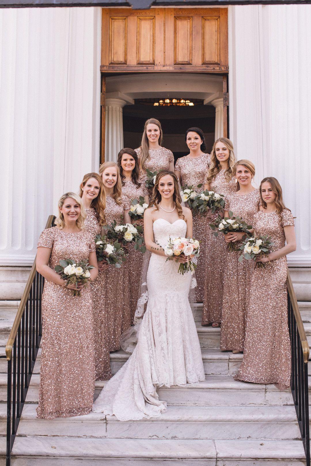 Black Tie Wedding In Charleston South Carolina Photo By Richard Bell Ph Beach Style Wedding Dresses Rose Gold Wedding Bridesmaids Wedding Bridesmaid Dresses