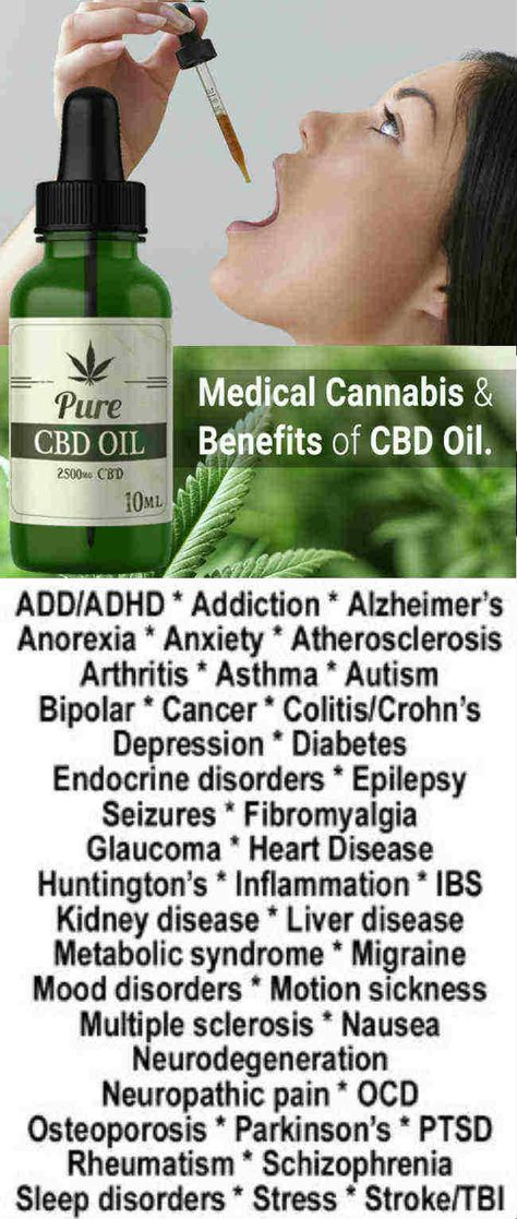 CBD OIL BENEFITS LIST – CBD oil for Cancer, Anxiety, Pain Relief ...