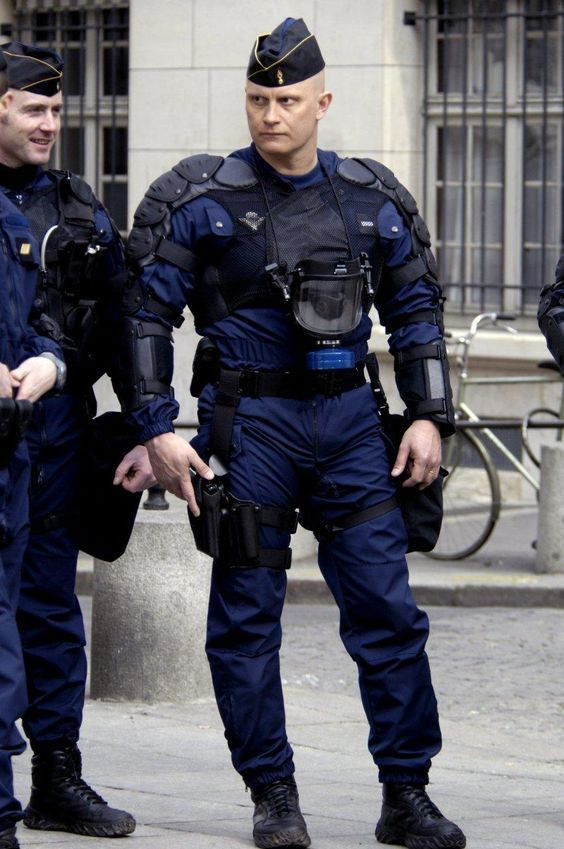 Image result for france police riot armor