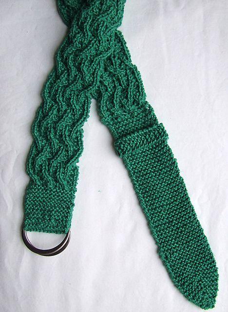 Lauren Woven Belt Pattern By Staceyjoy Elkin Knitting And Crochet