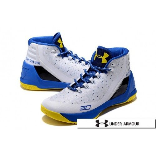 best service 87a45 72fbb ... canada ua curry 3 shoes 2016 under armour ua curry 3 dub nation white blue  yellow