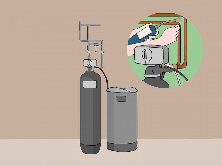 How to Install a Water Softener (with Pictures) wikiHow
