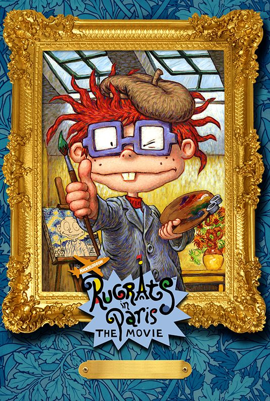 Chuckie Rugrats In Paris Movie Poster