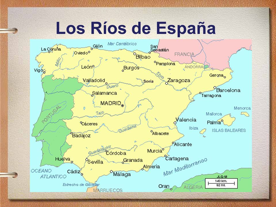 Resultado De Imagen De Rios De Espana Geografia Para Ninos Rios