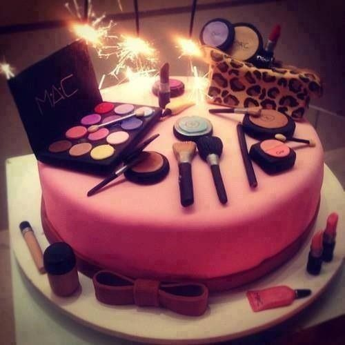 MAC Makeup Cake perfect for 16th or 21st Diva birthday Sweet