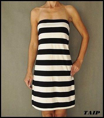 H M Basic Kremowo Czarna Sukienka 44 46 6508747476 Oficjalne Archiwum Allegro Dresses Fashion Strapless Dress