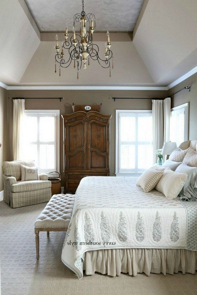 30 Endearing French Country Bedroom Decor That Ll Inspire You Page 2 Of 34 Country Bedroom Decor French Country Decorating Bedroom French Country Furniture