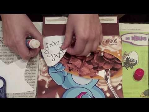 2º Adornos de navidad reciclados con cartón