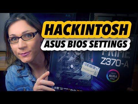 Hackintosh | BIOS settings on ASUS motherboards - YouTube | hackintosh