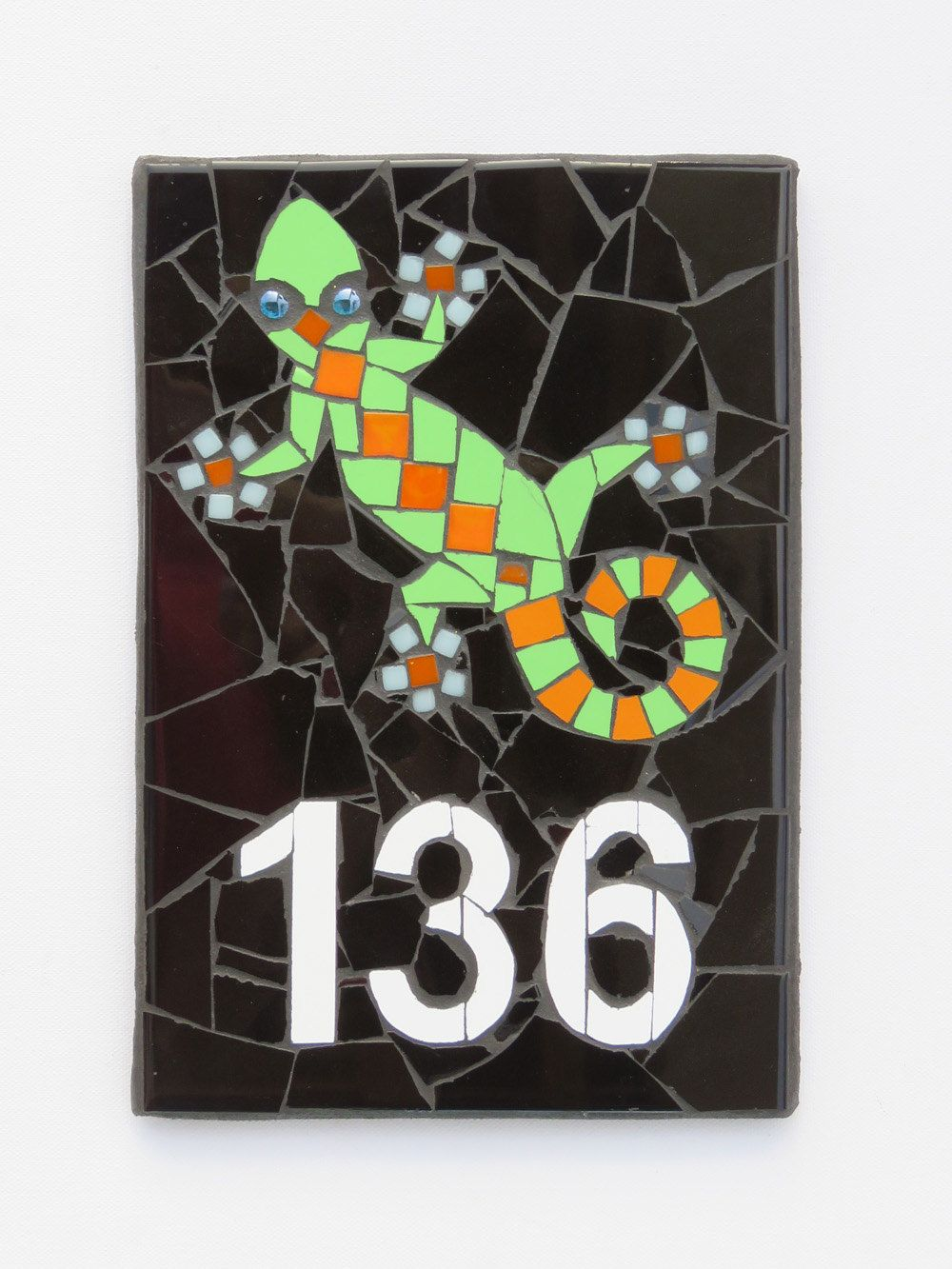 Outdoor house number mosaic house number ceramic tile house number outdoor house number mosaic house number ceramic tile house number plaque beach house number mosaic mailbox dailygadgetfo Image collections