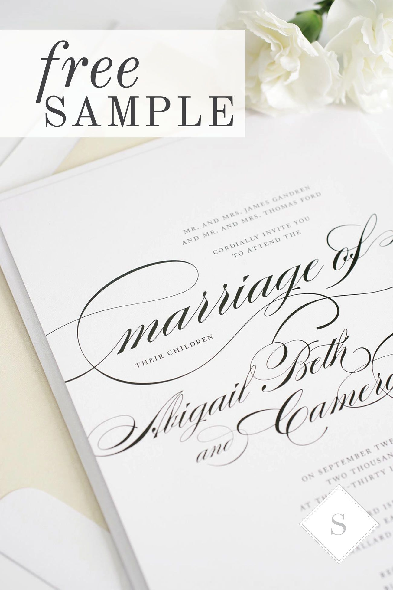 Recently engaged and love Shine Wedding Invitations simple and ...