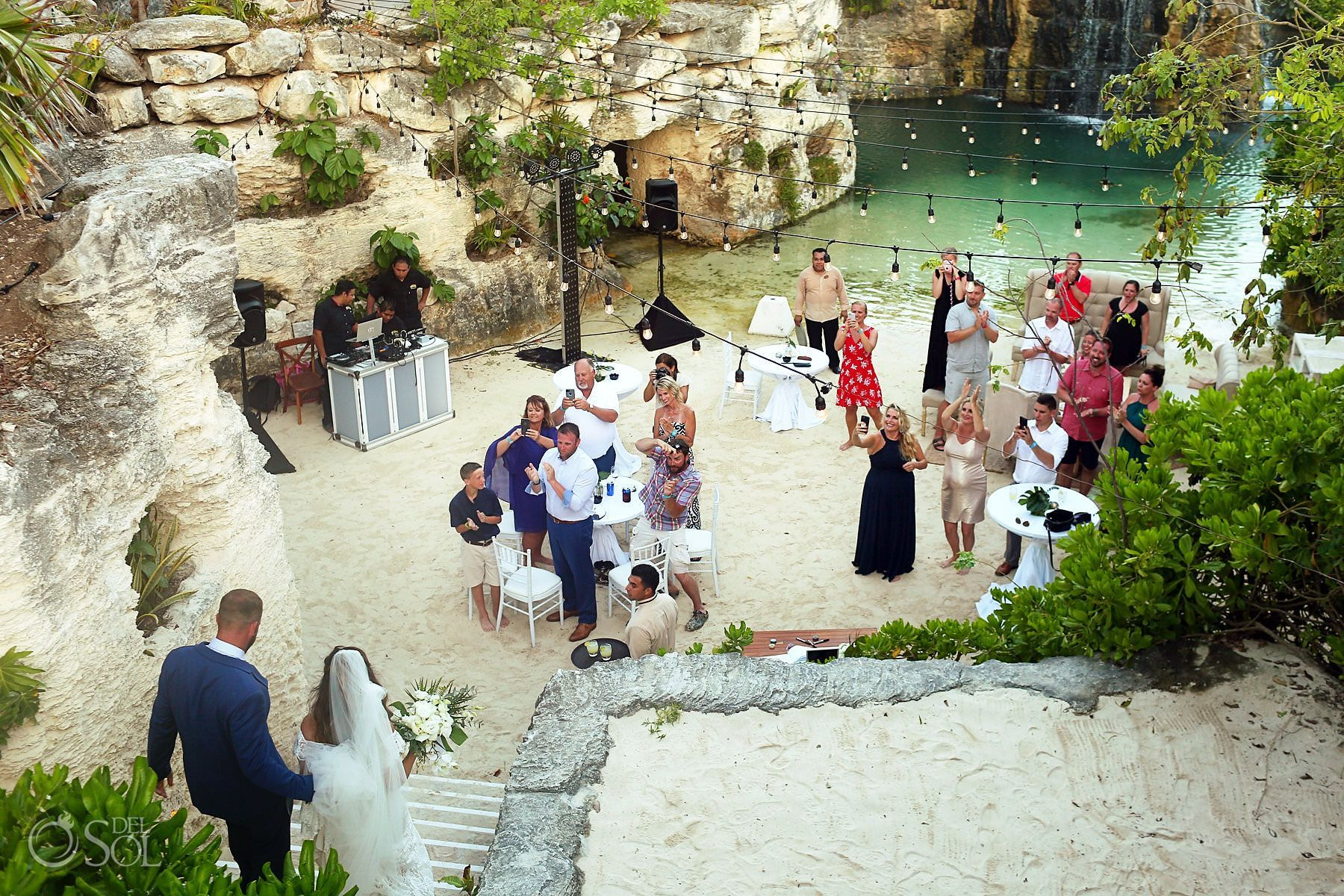 Hotel Xcaret Mexico Wedding Chelsea And Joel Del Sol Photography In 2020 Mexico Wedding Mexico Xcaret