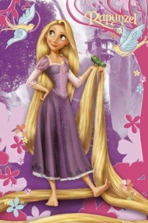 "Amazon.com: Disney Princess - Poster (Rapunzel) (Size: 24"" x 36""): Home & Kitchen"