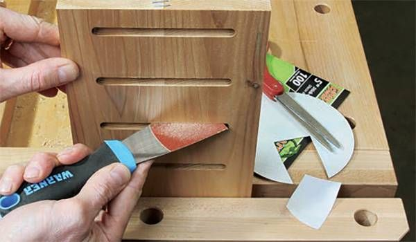 Sanding In Tight Quarters Woodworking Blog Videos Plans How To Small Woodworking Projects Woodworking Woodworking Projects